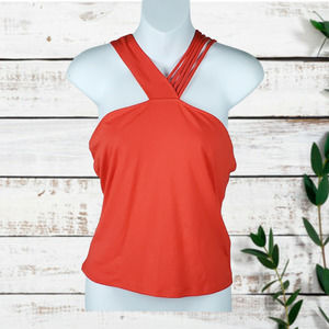 Guess Chas Strappy Racerback Top Size M